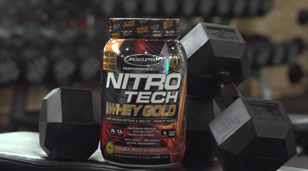 MuscleTech NitroTech Pure Whey Protein
