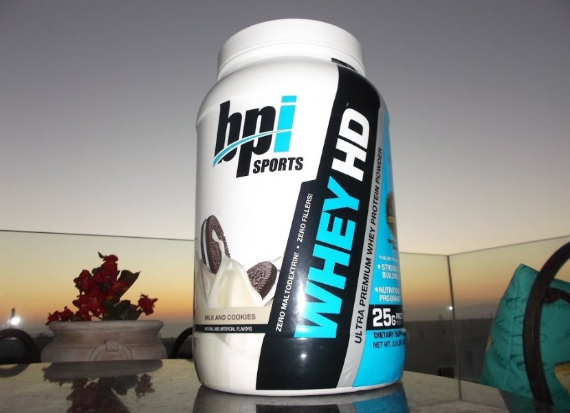 BPI Sports ISO HD Whey Protein Isolate and Hydrolysate